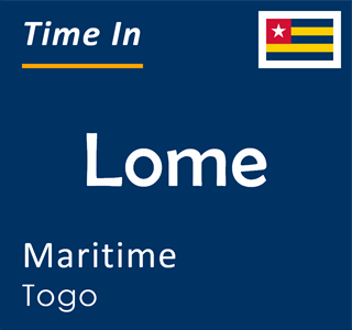 Current time in Lome, Maritime, Togo
