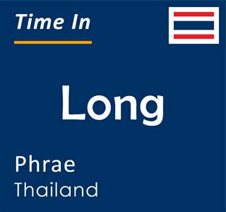 Current time in Long, Phrae, Thailand