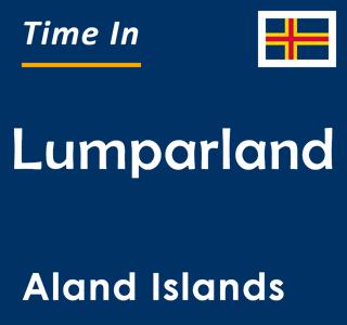 Current time in Lumparland, Aland Islands