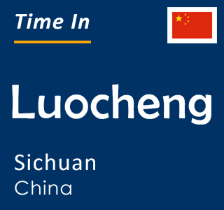 Current time in Luocheng, Sichuan, China