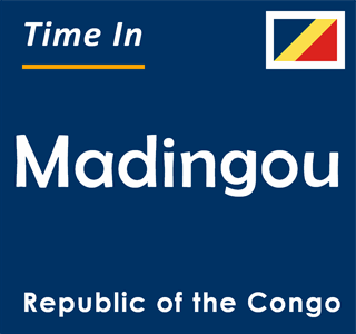 Current time in Madingou, Republic of the Congo