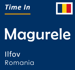 Current time in Magurele, Ilfov, Romania