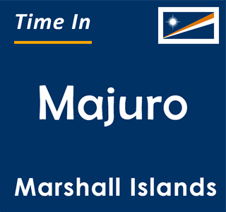 Current time in Majuro, Marshall Islands