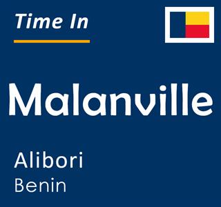 Current time in Malanville, Alibori, Benin