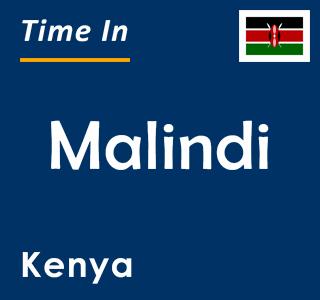 Current time in Malindi, Kenya