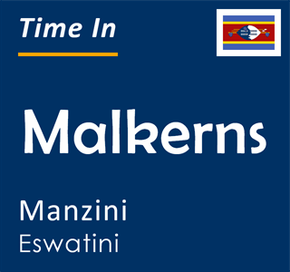 Current time in Malkerns, Manzini, Eswatini