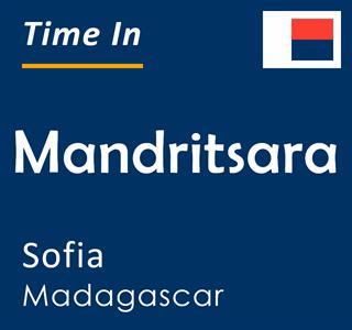 Current time in Mandritsara, Sofia, Madagascar