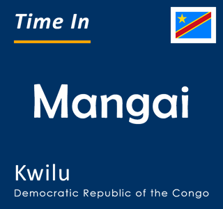 Current time in Mangai, Kwilu, Democratic Republic of the Congo