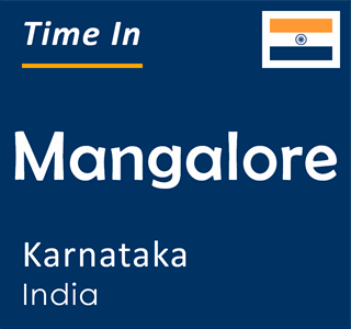 Current time in Mangalore, Karnataka, India