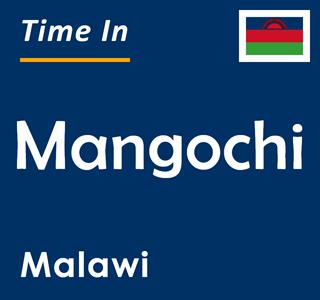 Current time in Mangochi, Malawi