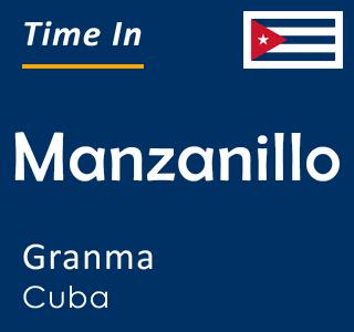 Current time in Manzanillo, Granma, Cuba