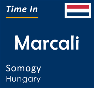 Current time in Marcali, Somogy, Hungary