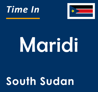Current time in Maridi, South Sudan