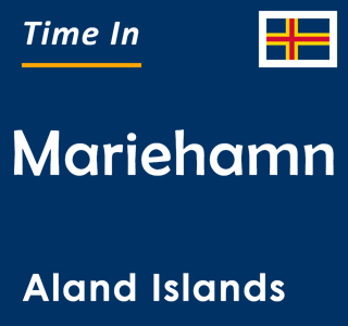 Current time in Mariehamn, Aland Islands