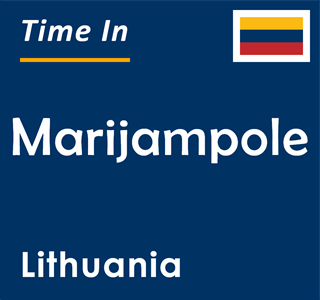 Current time in Marijampole, Lithuania