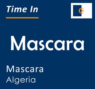 Current time in Mascara, Mascara, Algeria