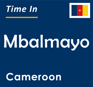 Current time in Mbalmayo, Cameroon