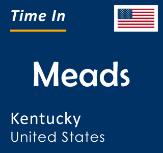 Current time in Meads, Kentucky, United States