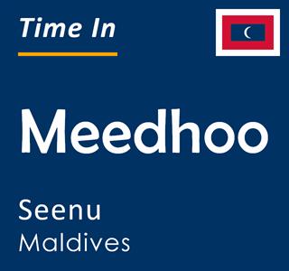 Current time in Meedhoo, Seenu, Maldives