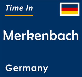 Current time in Merkenbach, Germany