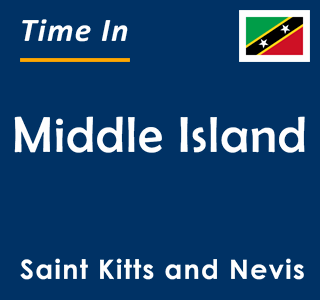 Current time in Middle Island, Saint Kitts and Nevis