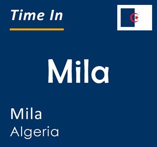 Current time in Mila, Mila, Algeria