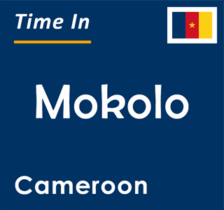 Current time in Mokolo, Cameroon