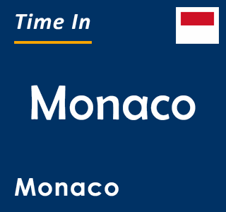 Current time in Monaco, Monaco