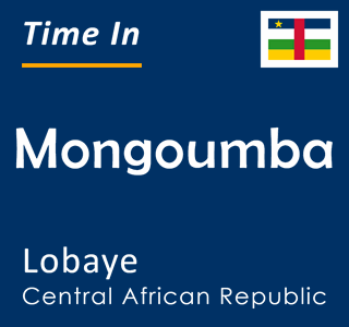 Current time in Mongoumba, Lobaye, Central African Republic