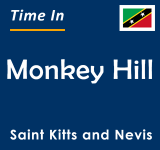Current time in Monkey Hill, Saint Kitts and Nevis