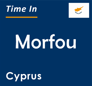 Current time in Morfou, Cyprus