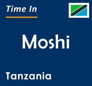 Current time in Moshi, Tanzania