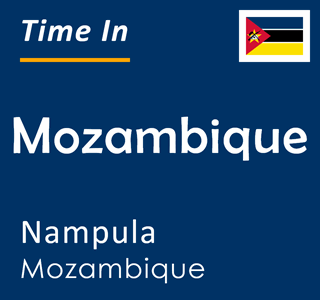 Current time in Mozambique, Nampula, Mozambique