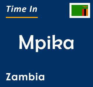 Current time in Mpika, Zambia