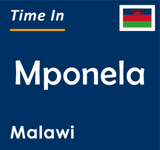 Current time in Mponela, Malawi