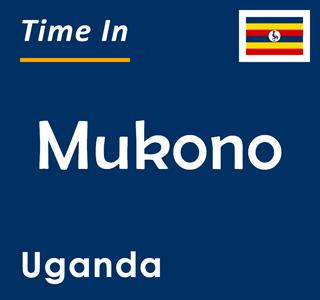 Current time in Mukono, Uganda