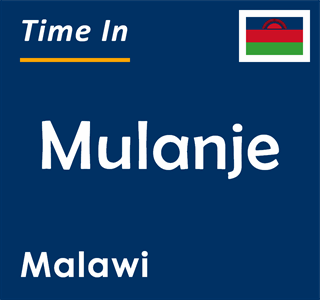 Current time in Mulanje, Malawi