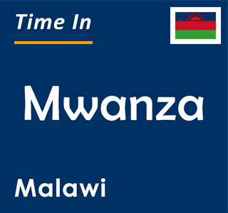 Current time in Mwanza, Malawi