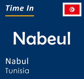 Current time in Nabeul, Nabul, Tunisia