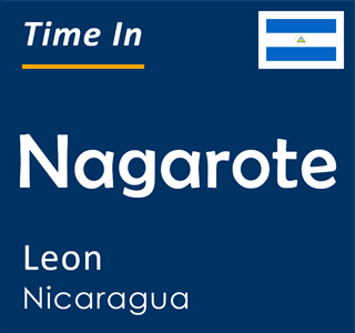 Current time in Nagarote, Leon, Nicaragua