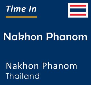Current time in Nakhon Phanom, Nakhon Phanom, Thailand