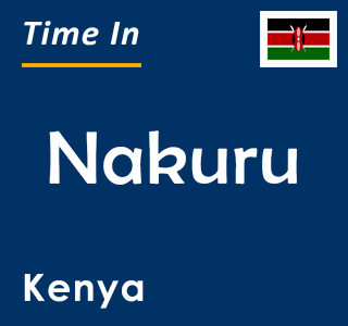 Current time in Nakuru, Kenya
