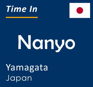 Current time in Nanyo, Yamagata, Japan