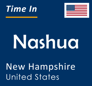 Current time in Nashua, New Hampshire, United States