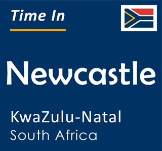 Current time in Newcastle, KwaZulu-Natal, South Africa