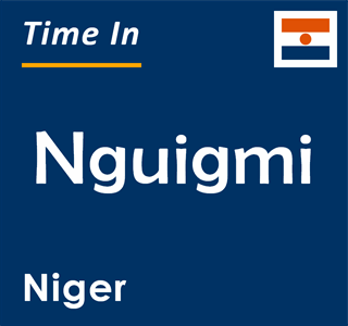 Current time in Nguigmi, Niger