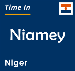 Current time in Niamey, Niger