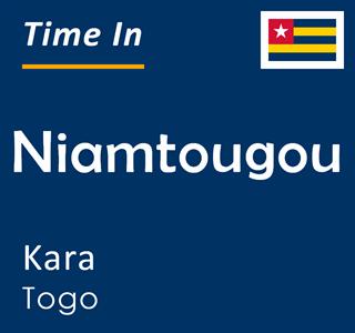 Current time in Niamtougou, Kara, Togo