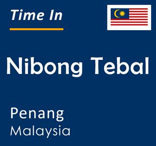 Current time in Nibong Tebal, Penang, Malaysia