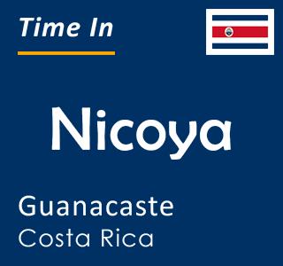 Current time in Nicoya, Guanacaste, Costa Rica